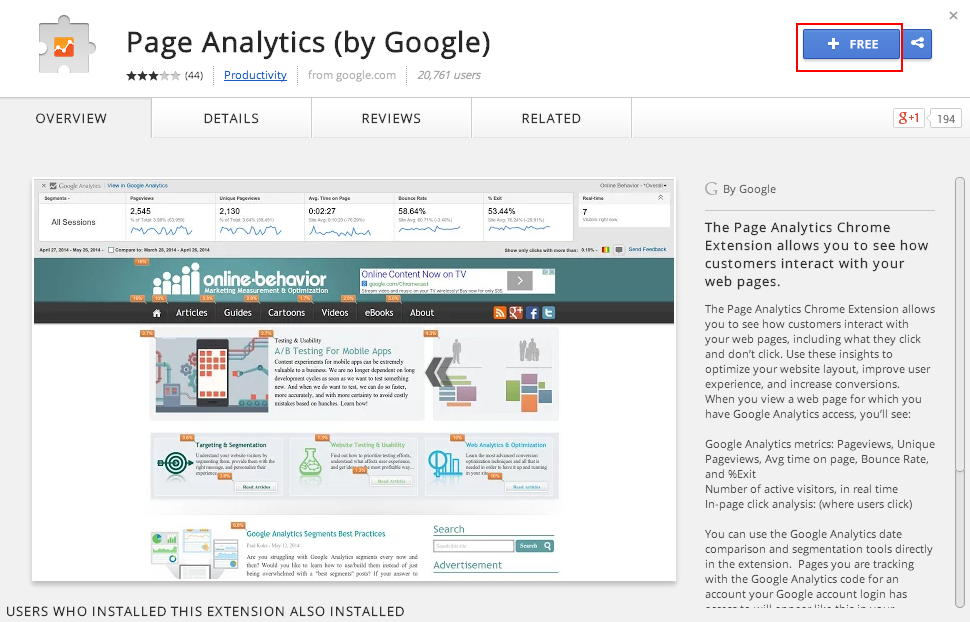 toolbar google analytics - 1